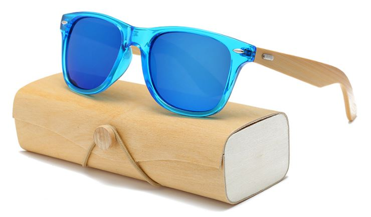 Lucency Blue Frame With Blue Lens