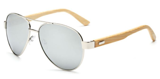 Silver Frame With Mercury Lens